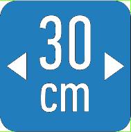 Ikonica mrezica 30 cm