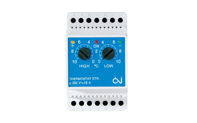 OJ ETR 2 1550 digitalni termostat