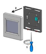 TFT WIFI demontaža termostata