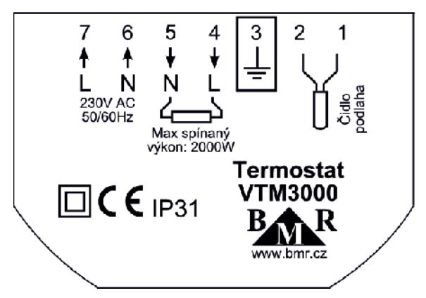 VTM 3000 termostat